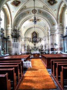 Kostel sv. Rocha Petrovice (Bruntál)