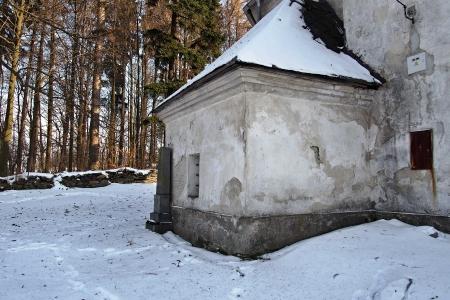 Kostel sv. Václava Skály,Horní Město