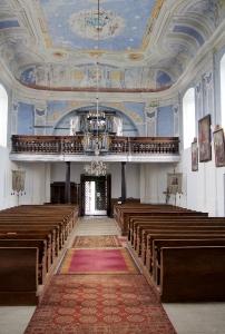 Kostel sv.Vavřince Uhřínov_18