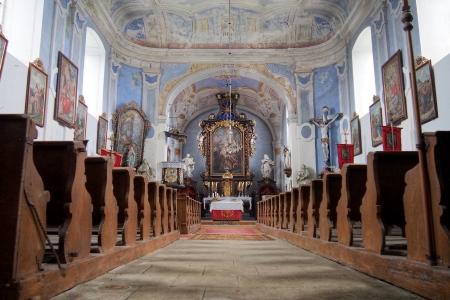 Kostel sv.Vavřince Uhřínov_7