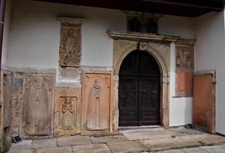 Moravská Třebová Hřbitovní kostel Povýšení sv. Kříže