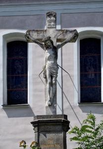 Nalžovské Hory - Kostel sv. Kateřiny