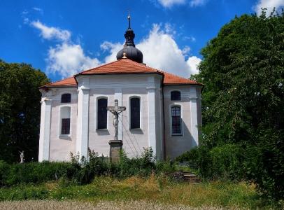 Nalžovské Hory - Kostel sv. Kateřiny_1