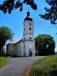 Nalžovské Hory - Kostel sv. Kateřiny_2