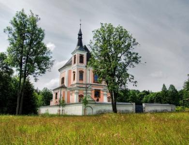 Poutní kostel sv. Anny a sv. Jakuba Většího Stará Voda (Libavá)_10