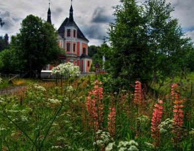 Poutní kostel sv. Anny a sv. Jakuba Většího Stará Voda (Libavá)_1