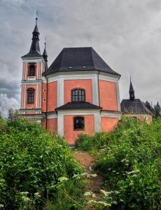 Poutní kostel sv. Anny a sv. Jakuba Většího Stará Voda (Libavá)_3
