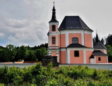 Poutní kostel sv. Anny a sv. Jakuba Většího Stará Voda (Libavá)_5