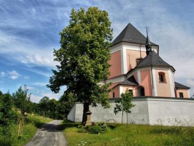 Poutní kostel sv. Anny a sv. Jakuba Většího Stará Voda (Libavá)_9