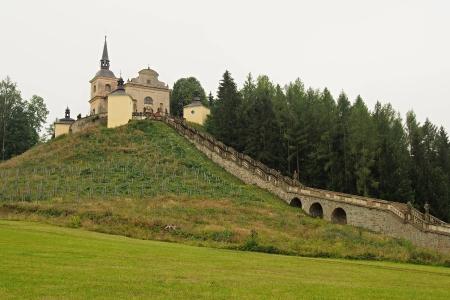 Poutní místo s kostelem Panny Marie Bolestné Homole._27