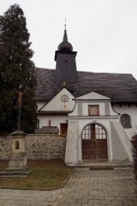 Rybí - kostel Nalezení sv.Kříže