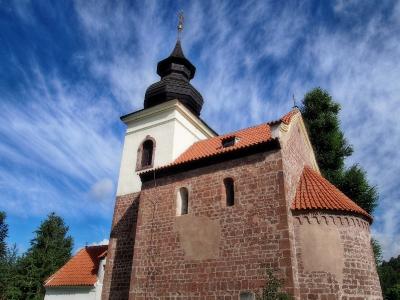 Stříbrná Skalice - Rovná - Románský kostel sv. Jakuba Většího_14