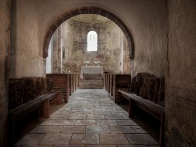 Stříbrná Skalice - Rovná - Románský kostel sv. Jakuba Většího_22