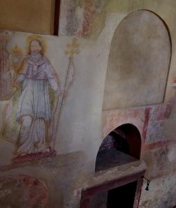 Stříbrná Skalice - Rovná - Románský kostel sv. Jakuba Většího_23