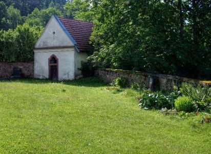 Stříbrná Skalice - Rovná - Románský kostel sv. Jakuba Většího_7