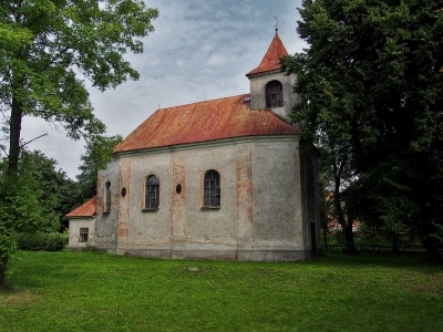 Těšíkov - Kostel sv.Vavřince_4