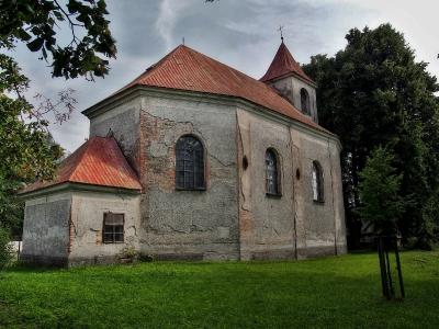Těšíkov - Kostel sv.Vavřince_7