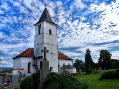 Všeruby - Kostel sv. Archanděla Michaela_1