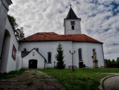 Všeruby - Kostel sv. Archanděla Michaela_2