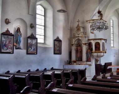 Všeruby - Kostel sv. Archanděla Michaela_4